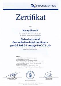 Zertifikat SiGeKo